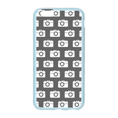 Modern Chic Vector Camera Illustration Pattern Apple Seamless iPhone 6 Case (Color)