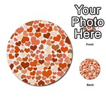 Heart 2014 0902 Multi-purpose Cards (Round)  Front 50