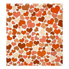 Heart 2014 0902 Shower Curtain 66  x 72  (Large)