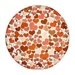 Heart 2014 0902 Ornament (Round Filigree)