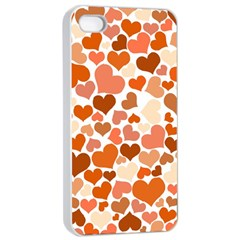 Heart 2014 0902 Apple Iphone 4/4s Seamless Case (white)