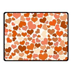 Heart 2014 0902 Double Sided Fleece Blanket (Small)