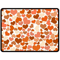 Heart 2014 0902 Double Sided Fleece Blanket (large)