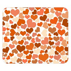 Heart 2014 0902 Double Sided Flano Blanket (Small)