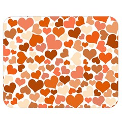 Heart 2014 0902 Double Sided Flano Blanket (Medium)