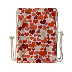 Heart 2014 0902 Drawstring Bag (Small)