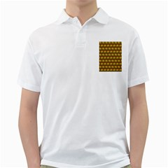 Burger Snadwich Food Tile Pattern Golf Shirts