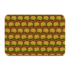 Burger Snadwich Food Tile Pattern Plate Mats