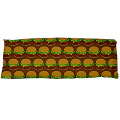 Burger Snadwich Food Tile Pattern Body Pillow Cases (Dakimakura)