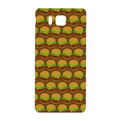 Burger Snadwich Food Tile Pattern Samsung Galaxy Alpha Hardshell Back Case