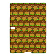 Burger Snadwich Food Tile Pattern Samsung Galaxy Tab S (10.5 ) Hardshell Case