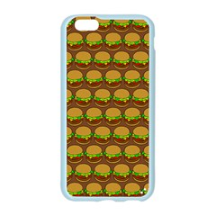 Burger Snadwich Food Tile Pattern Apple Seamless iPhone 6 Case (Color)