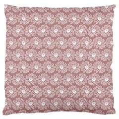 Gerbera Daisy Vector Tile Pattern Large Flano Cushion Cases (two Sides)