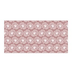 Gerbera Daisy Vector Tile Pattern Satin Wrap