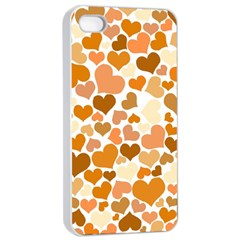 Heart 2014 0903 Apple iPhone 4/4s Seamless Case (White)