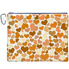 Heart 2014 0903 Canvas Cosmetic Bag (XXXL)