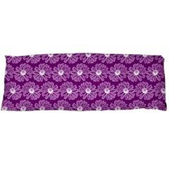 Gerbera Daisy Vector Tile Pattern Body Pillow Cases (Dakimakura)