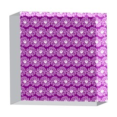 Gerbera Daisy Vector Tile Pattern 5  x 5  Acrylic Photo Blocks