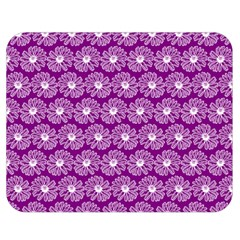 Gerbera Daisy Vector Tile Pattern Double Sided Flano Blanket (Medium)
