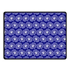 Gerbera Daisy Vector Tile Pattern Double Sided Fleece Blanket (Small)