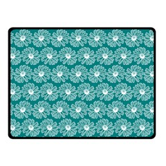 Gerbera Daisy Vector Tile Pattern Fleece Blanket (Small)