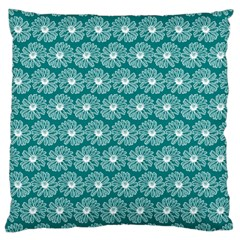 Gerbera Daisy Vector Tile Pattern Large Cushion Cases (one Side)