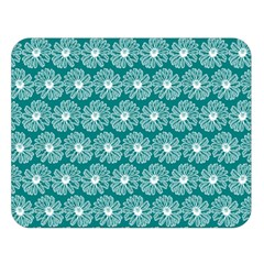 Gerbera Daisy Vector Tile Pattern Double Sided Flano Blanket (large)