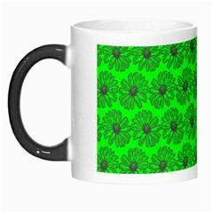 Gerbera Daisy Vector Tile Pattern Morph Mugs