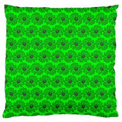 Gerbera Daisy Vector Tile Pattern Standard Flano Cushion Cases (two Sides)