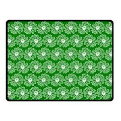 Gerbera Daisy Vector Tile Pattern Fleece Blanket (small)
