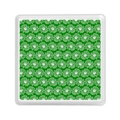 Gerbera Daisy Vector Tile Pattern Memory Card Reader (Square)