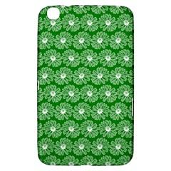 Gerbera Daisy Vector Tile Pattern Samsung Galaxy Tab 3 (8 ) T3100 Hardshell Case