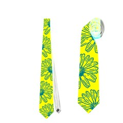 Gerbera Daisy Vector Tile Pattern Neckties (Two Side)
