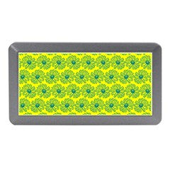 Gerbera Daisy Vector Tile Pattern Memory Card Reader (mini)