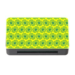 Gerbera Daisy Vector Tile Pattern Memory Card Reader with CF