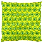 Gerbera Daisy Vector Tile Pattern Large Cushion Cases (Two Sides)  Back