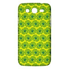 Gerbera Daisy Vector Tile Pattern Samsung Galaxy Mega 5 8 I9152 Hardshell Case