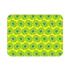 Gerbera Daisy Vector Tile Pattern Double Sided Flano Blanket (mini)