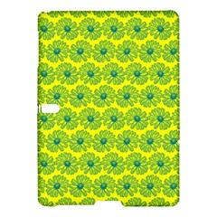 Gerbera Daisy Vector Tile Pattern Samsung Galaxy Tab S (10.5 ) Hardshell Case