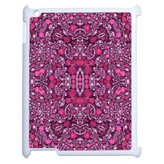 Crazy Beautiful Abstract  Apple Ipad 2 Case (white)