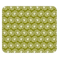 Gerbera Daisy Vector Tile Pattern Double Sided Flano Blanket (Small)