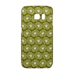 Gerbera Daisy Vector Tile Pattern Galaxy S6 Edge