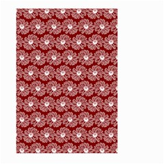 Gerbera Daisy Vector Tile Pattern Large Garden Flag (Two Sides)