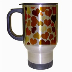 Heart 2014 0904 Travel Mug (silver Gray)