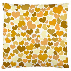 Heart 2014 0904 Large Flano Cushion Cases (Two Sides)