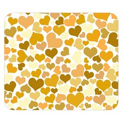 Heart 2014 0904 Double Sided Flano Blanket (Small)