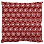 Gerbera Daisy Vector Tile Pattern Large Cushion Cases (Two Sides)  Front