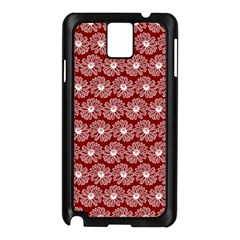 Gerbera Daisy Vector Tile Pattern Samsung Galaxy Note 3 N9005 Case (black)