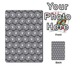 Gerbera Daisy Vector Tile Pattern Multi-purpose Cards (Rectangle)