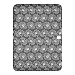 Gerbera Daisy Vector Tile Pattern Samsung Galaxy Tab 4 (10 1 ) Hardshell Case